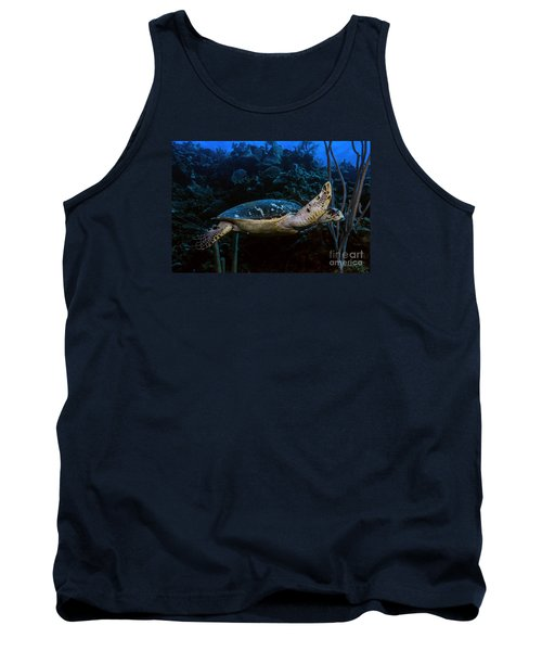 Tank Top featuring the photograph Hawksbill Turtle by JT Lewis