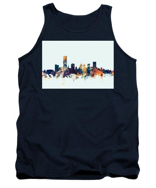 Oklahoma City Skyline Tank Top