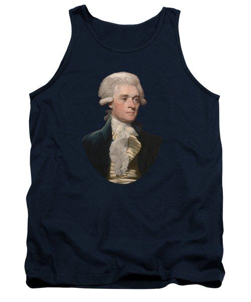 Thomas Jefferson - By Mather Brown Tank Top