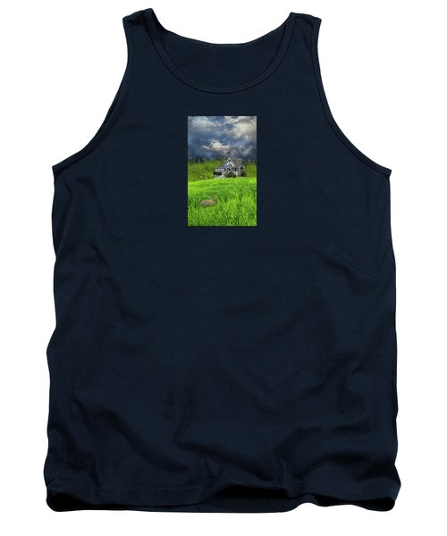 Tank Top featuring the photograph 4379 by Peter Holme III