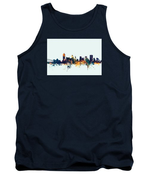 Memphis Tennessee Skyline Tank Top