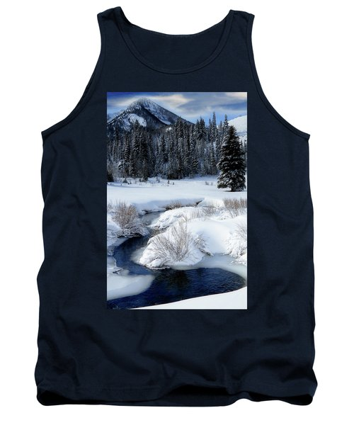 Wasatch Mountains In Winter Tank Top