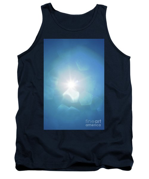 Tank Top featuring the photograph Abstract Sunlight by Atiketta Sangasaeng