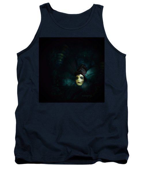 Tank Top featuring the digital art A Basement Apartment by Delight Worthyn
