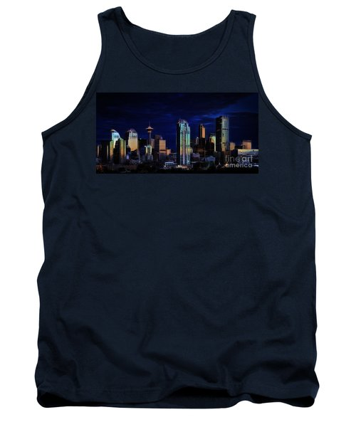 A Calgary Sunrise Tank Top