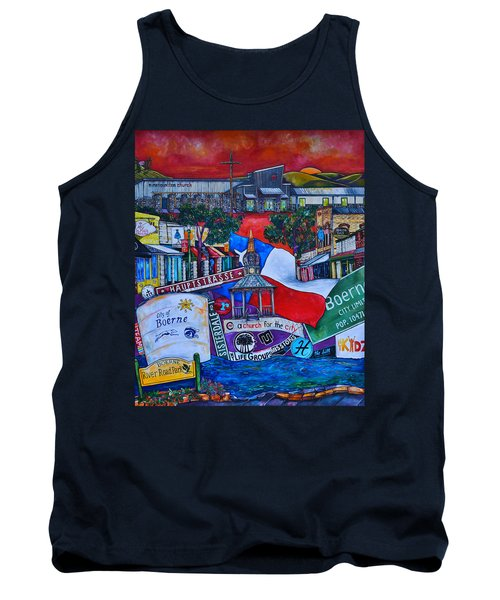 Tank Top featuring the painting A Church For The City by Patti Schermerhorn