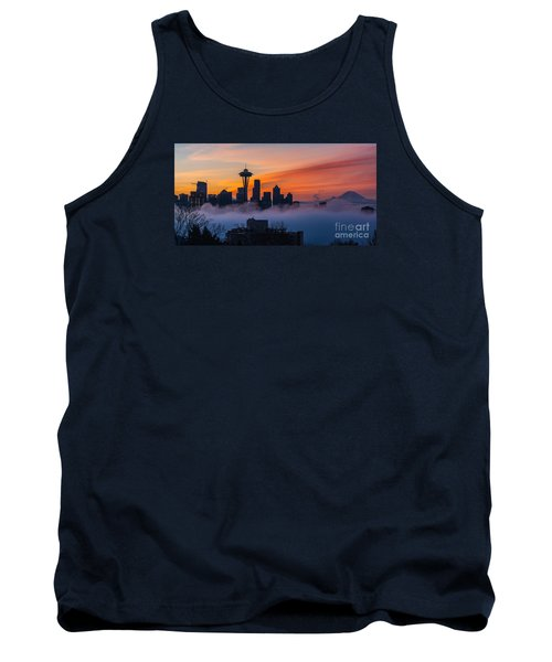 A City Emerges Tank Top by Mike Reid