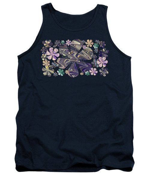 A Field Of Whimsical Flowers Tank Top