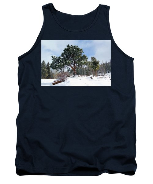 A Fresh Blanket Of Snow Tank Top