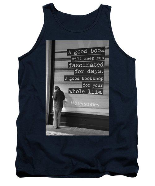 A Good Book Tank Top
