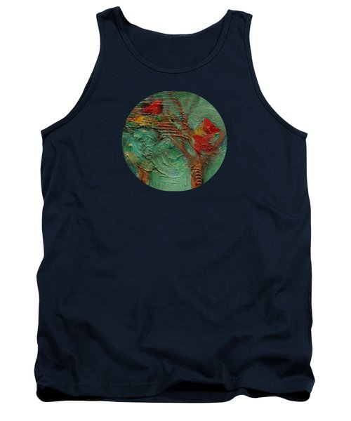 A Home In The Woods Tank Top by Mary Wolf