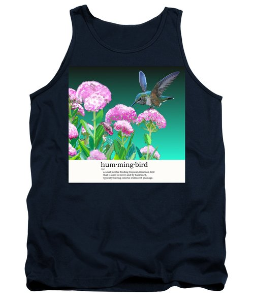 A Hummingbird Visits Tank Top