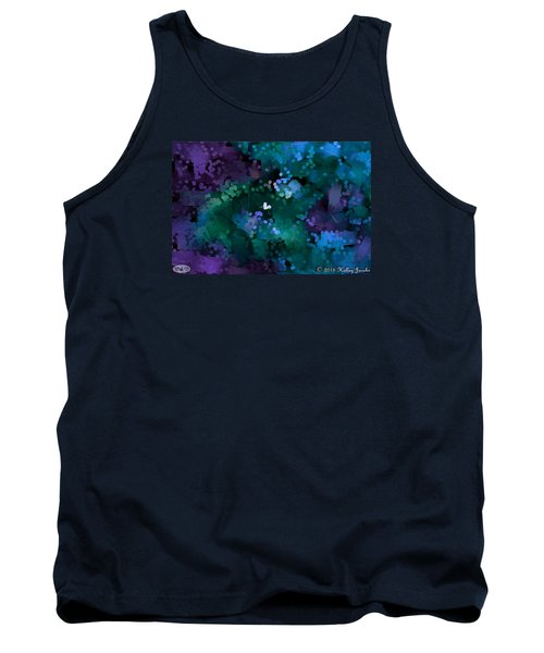 Tank Top featuring the painting A Love Song by Holley Jacobs