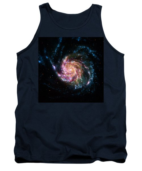 A Pinwheel In Many Colors Tank Top