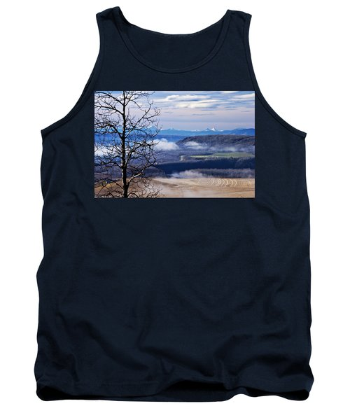 A Road Half Way There Tank Top by Sandra Foster