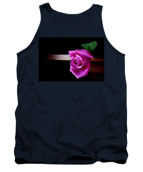 A Single Rose Tank Top