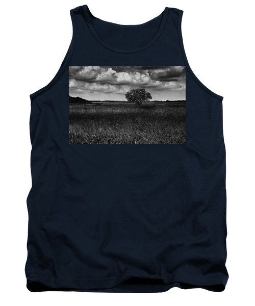 A Storm Is Coming To Wyoming Grasslands Tank Top by Jason Moynihan
