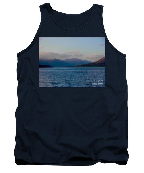 A Tranquil Dawn Over Loch Broom Tank Top