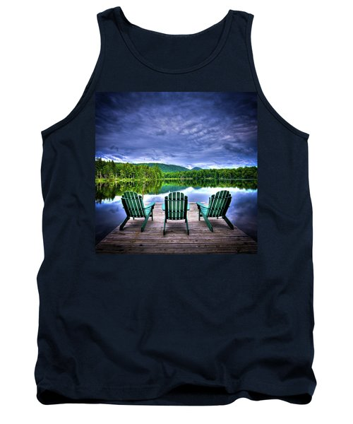 Tank Top featuring the photograph A View Of Serenity by David Patterson