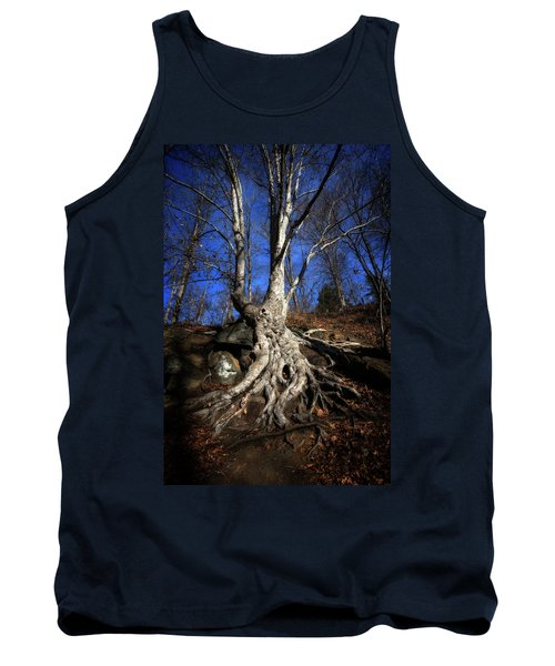 Tank Top featuring the photograph Above Ground by Alan Raasch