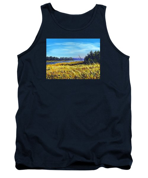 Above The Dam Sketch Tank Top