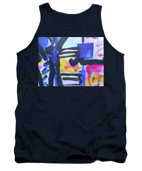 Abstract-16 Tank Top