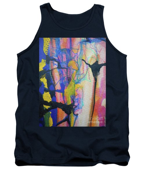 Abstract-3 Tank Top