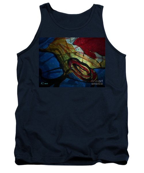 Abstract-31 Tank Top