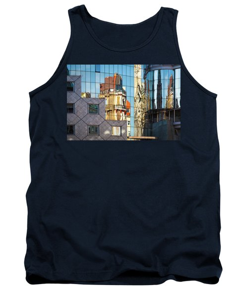 Abstract Architecture Tank Top by Teemu Tretjakov
