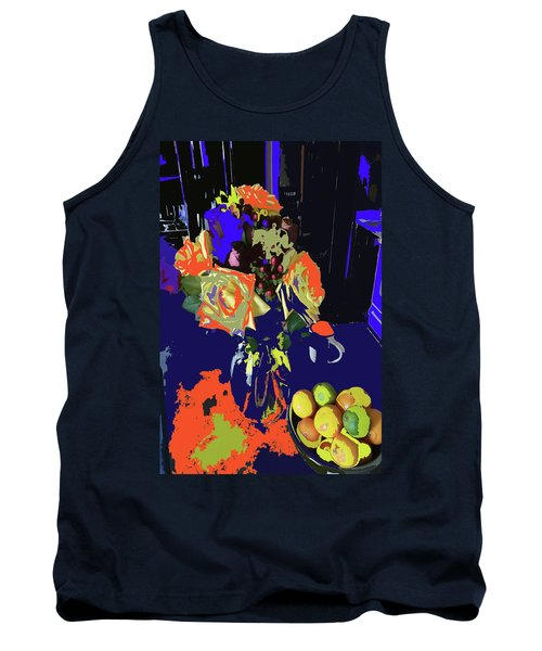Abstract Flowers Of Light Series #8 Tank Top