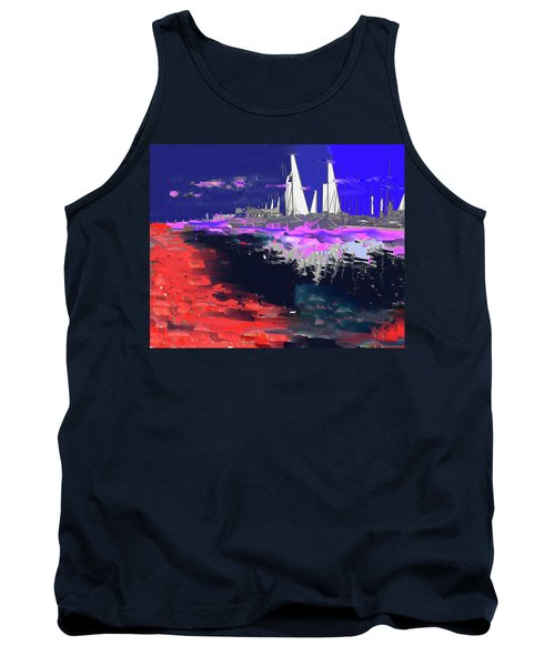 Abstract  Images Of Urban Landscape Series #14 Tank Top