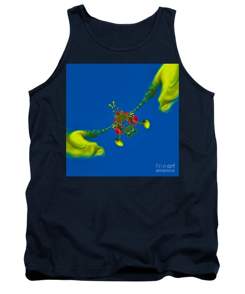 Abstract Lobster 9137205141 Tank Top