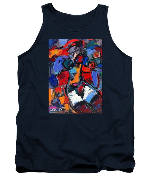 Abstract Nude 05 Tank Top