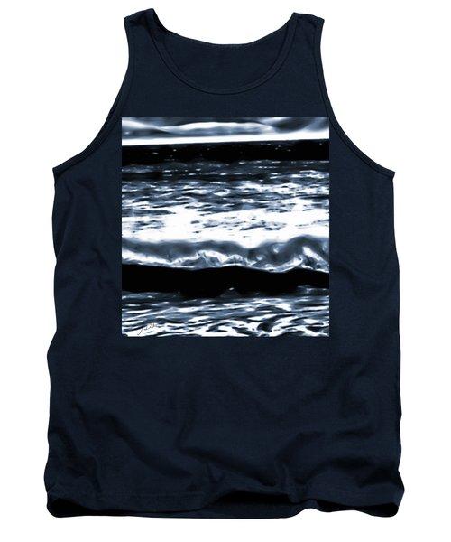 Abstract Ocean Tank Top