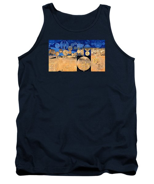 Tank Top featuring the digital art Abstract Painting - Fawn by Vitaliy Gladkiy