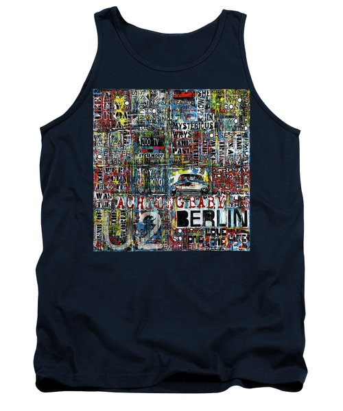Achtung Baby Tank Top