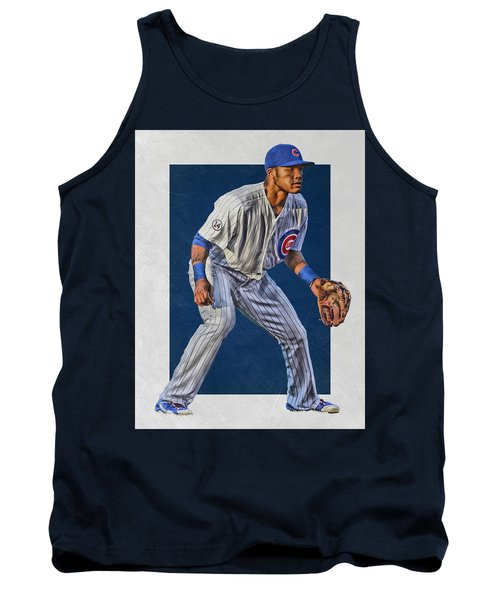 Addison Russell Chicago Cubs Art 2 Tank Top