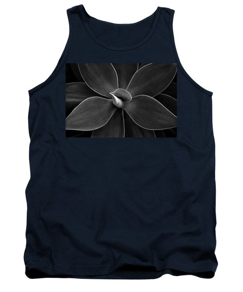 Agave Leaves Detail Tank Top