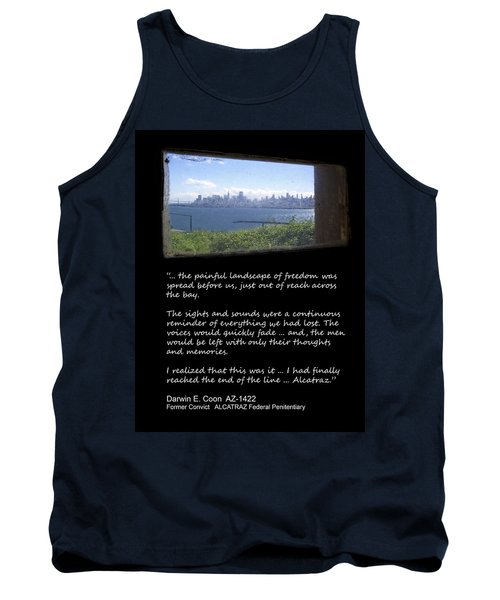 Alcatraz Reality - The Painful Landscape Of Freedom Tank Top