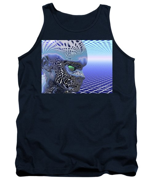 Alien Stare Tank Top