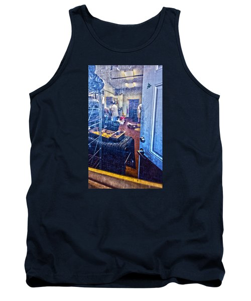 Alley Screen Door Tank Top