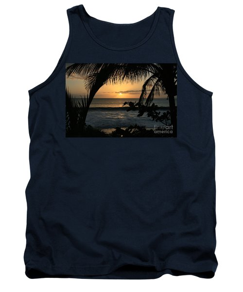 Aloha Aina The Beloved Land - Sunset Kamaole Beach Kihei Maui Hawaii Tank Top