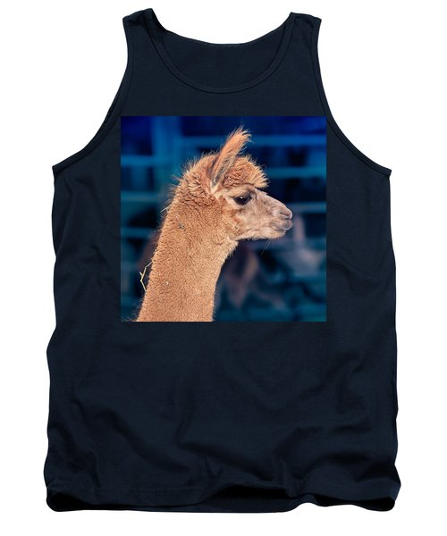 Alpaca Wants To Meet You Tank Top by TC Morgan