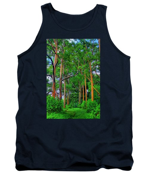 Amazing Rainbow Eucalyptus Tank Top