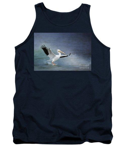 American White Pelican  Tank Top