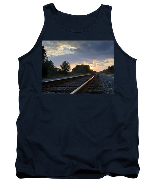 Amtrak Railroad System Tank Top