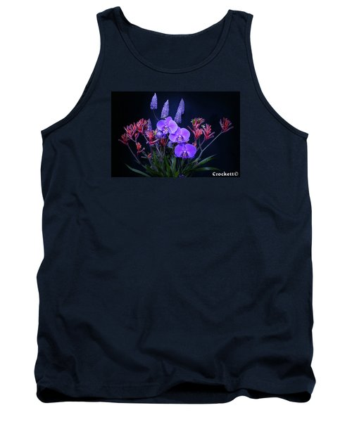 Tank Top featuring the photograph An Aussie Flower Arrangement by Gary Crockett