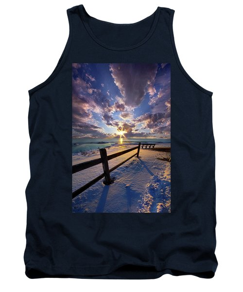 Tank Top featuring the photograph And I Will Give You Rest. by Phil Koch