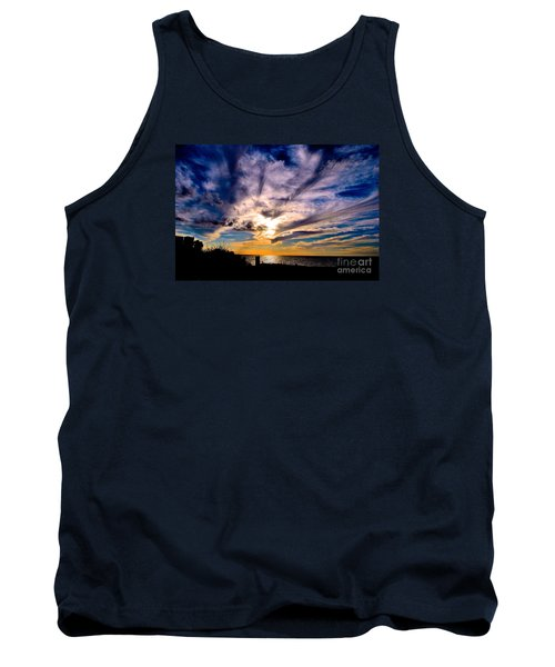 And Then There Was God Tank Top by Margie Amberge