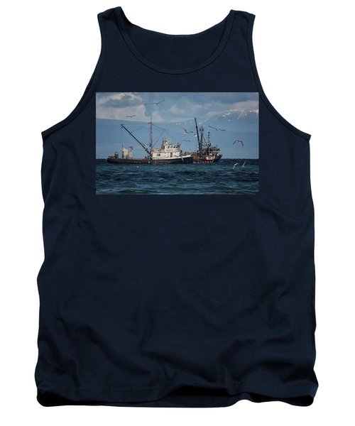 Tank Top featuring the photograph Kornat And Western Investor by Randy Hall